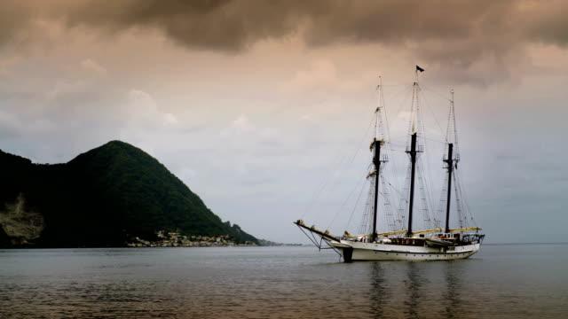 Pirate Ship at Dusk