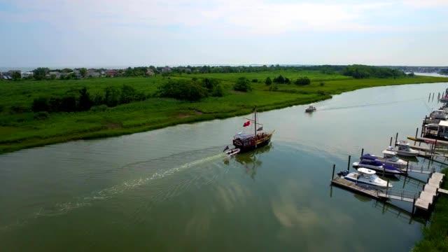 Pirate ship on Creek