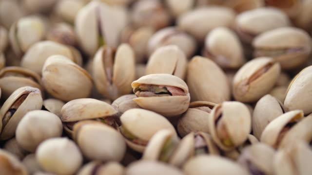 Pistachio Nuts 4K Turntable Loop - Top Down