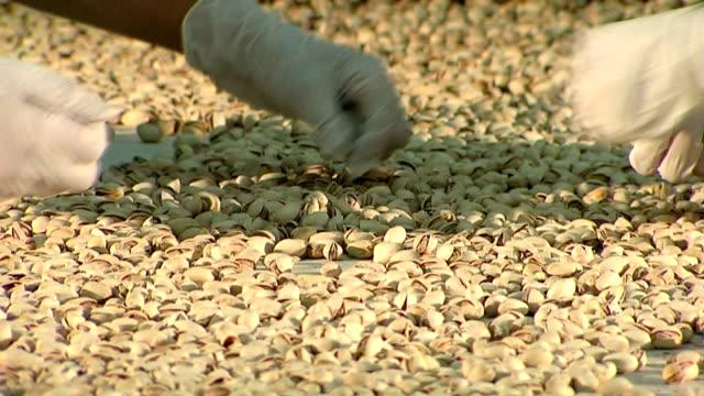 Pistachio nuts production line. Part 3 of 5