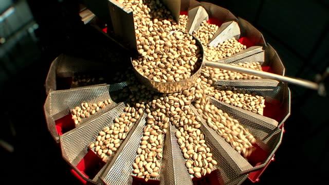Pistachio nuts production line. Part 4 of 5