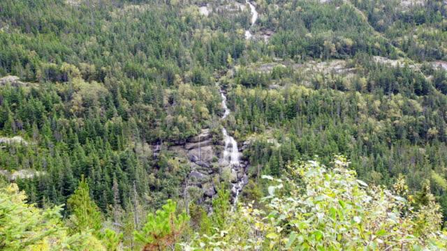 pitchfork waterfall - klondike stock videos and b-roll footage