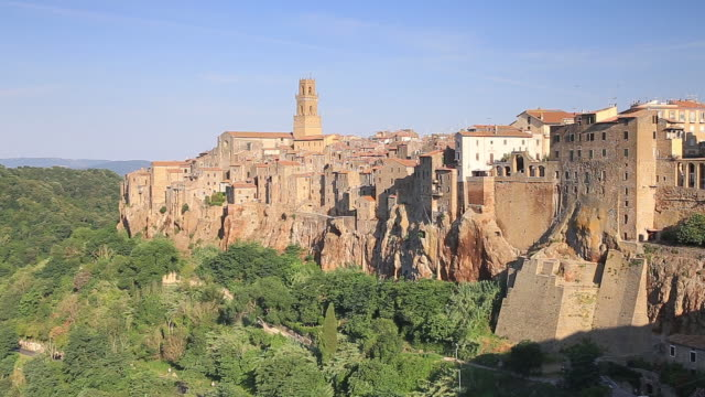 Pitigliano is a hillside town in the province of Grosseto, Tuscany.