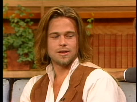 pitt interview - brad pitt actor stock videos & royalty-free footage