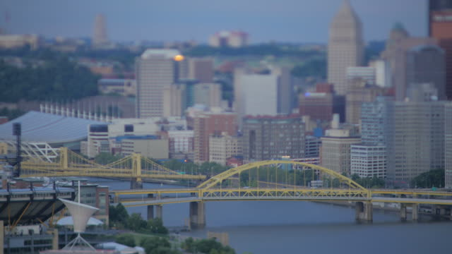 pittsburgh, pa - pittsburgh video stock e b–roll