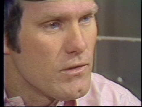 pittsburgh steelers' quarterback terry bradshaw says that he always felt that he was different and had a desire to be someone special. - terry bradshaw stock videos & royalty-free footage