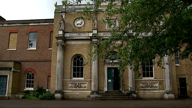 london ealing pitzhanger manor house ext general views of pitzhanger manor house and gardens julian bell through house with reporter/ variso interior... - ealing stock videos and b-roll footage