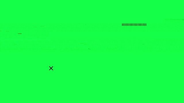 vidéos et rushes de problème de bruit de pixel - pic flamboyant