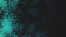 Pixelated technology background