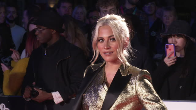pixie lott at 'greed' european premiere 63rd bfi london film festival at odeon luxe leicester square on october 9 2019 in london england - the times bfi london film festival stock videos & royalty-free footage