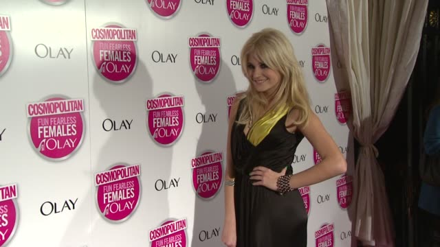 vidéos et rushes de pixie lott at the cosmopolitan ultimate women of the year awards arrivals at london england. - pixie lott