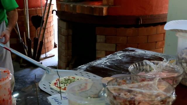 Pizza cuisson