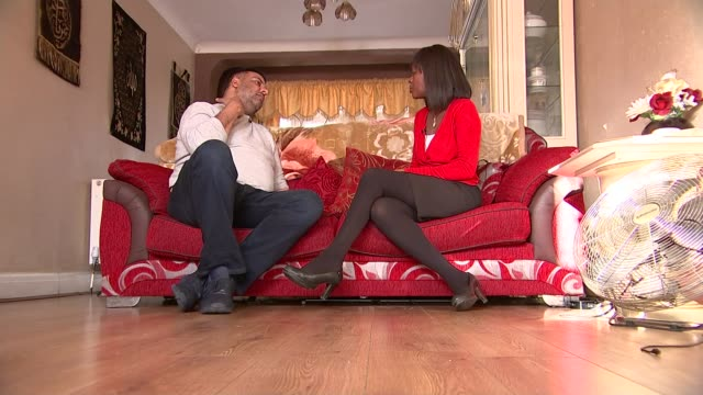 Pizza delivery driver scarred for life by acid attack Imran Khan interview SOT CUTAWAYS close shot and reporter EXT Reporter to camera London INT...