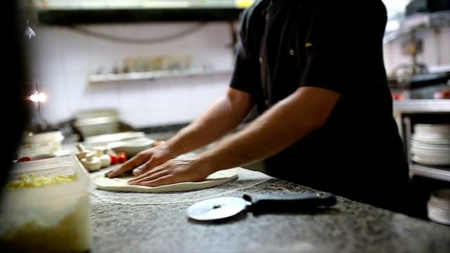 ピザマスター - 専門的な職業点の映像素材/bロール