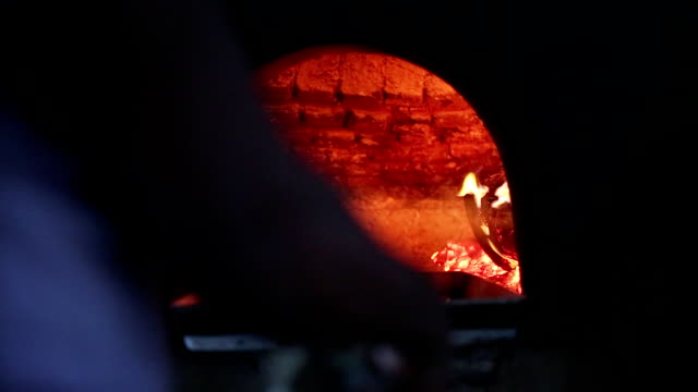 pizza oven - hearth oven stock videos & royalty-free footage