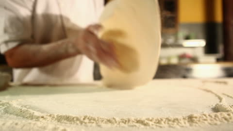 ms pizza preparation typical food / sao paulo, brazil - pizza stock videos & royalty-free footage