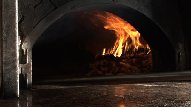 hd: pizza - hearth oven stock videos & royalty-free footage