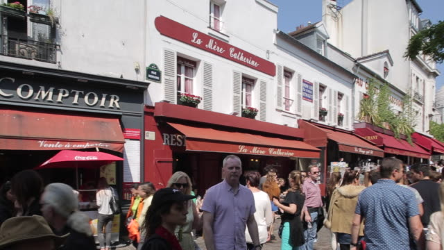 Place du Tertre, Montmartre, Paris, France, Europe