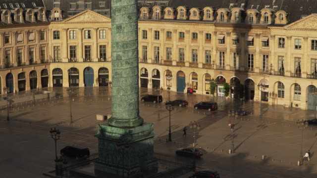 stockvideo's en b-roll-footage met place vendome sunny wild - colonne vendome