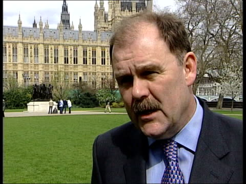 snp plaid cymru england london westminster elfyn llwyd interviewed sot one in 10 of the people in wales is on a waiting list of some kind absolutely... - plaid stock videos & royalty-free footage