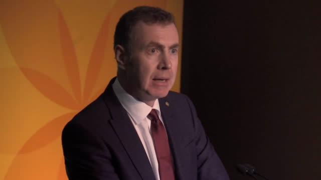 plaid cymru leader adam price has promised a green jobs revolution in wales at his party's general election manifesto launch he said plans for a... - lagoon stock videos & royalty-free footage