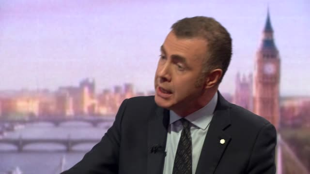 plaid cymru leader adam price saying support is growing for welsh independence - growth stock videos & royalty-free footage