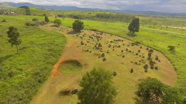plain of jars, laos - archaeologist stock videos & royalty-free footage