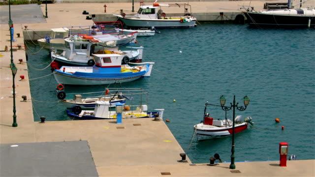 plakias to frangokastello - floating moored platform stock videos & royalty-free footage