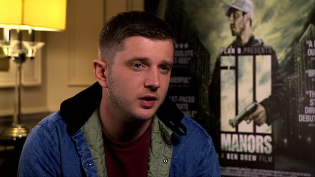 plan b on difficulties during the production and people not trusting him as a director at ill manors interviews at langham hotel on may 30, 2012 in... - notfallplan konzepte stock-videos und b-roll-filmmaterial