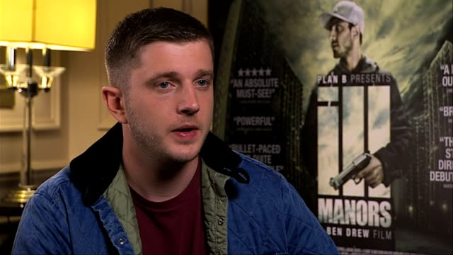 plan b on why he decided to make a film av out this particular environment ill manors interviews at langham hotel on may 30, 2012 in london, england... - notfallplan konzepte stock-videos und b-roll-filmmaterial