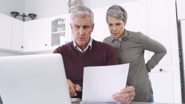 plan properly if you want to live comfortably - life insurance stock videos & royalty-free footage