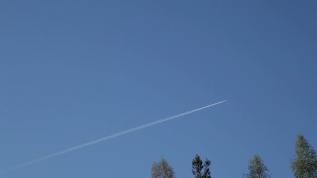 Plane in Sky