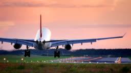 Plane passes overhead Plane passes overhead