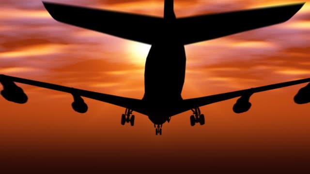 vídeos y material grabado en eventos de stock de avión de despegue (1080p - despegar actividad