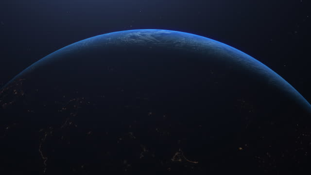 planet earth amazing view from space - viewpoint stock videos & royalty-free footage