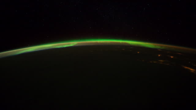 planet earth from iss: central great plains, lights at night - great plains stock videos & royalty-free footage