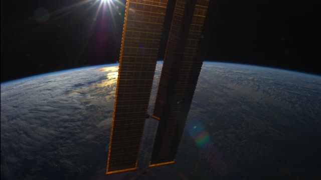 Planet Earth from ISS: Sun Movements during the Soltice