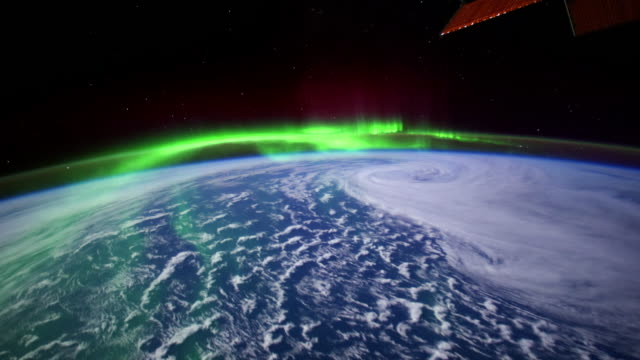 Planet Earth from Space: Aurora Borealis one of the most awesome events in nature