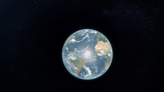 planet earth from space - wop productions stock-videos und b-roll-filmmaterial