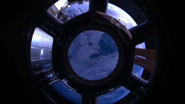 planet earth from the iss: from the indian to the pacific ocean. cupola view - circle stock videos & royalty-free footage