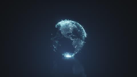 vídeos y material grabado en eventos de stock de planeta tierra motion graphics - europa continente