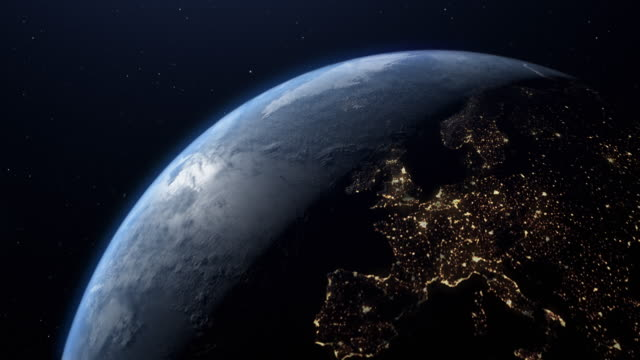 planet earth night to day europe united kingdom - physical geography stock videos & royalty-free footage