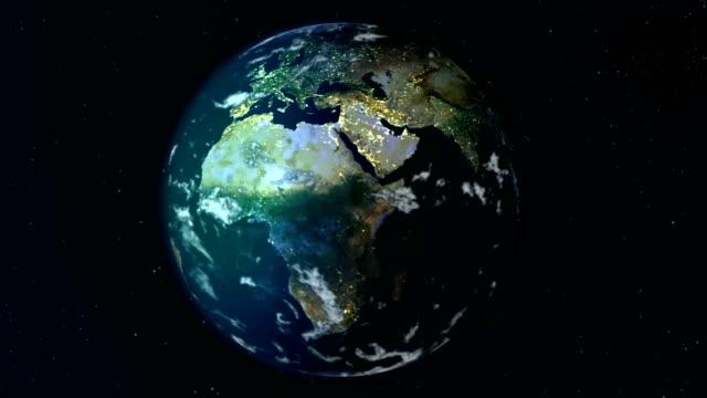 vidéos et rushes de planète terre - tournoyer