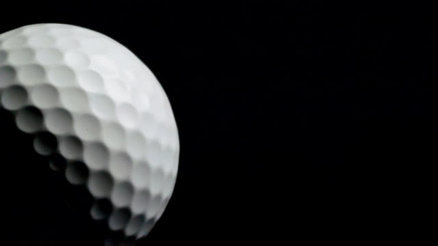 planet golf - golf ball stock videos & royalty-free footage