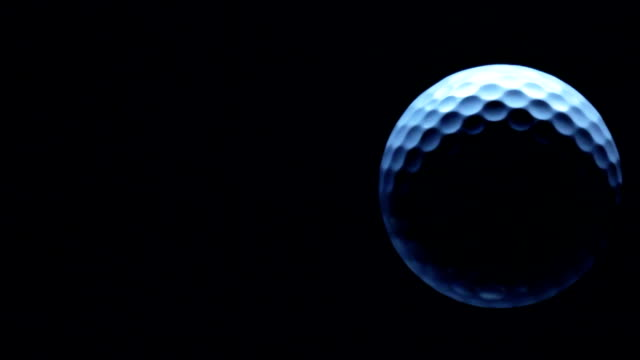 planet golf - golf ball stock videos and b-roll footage