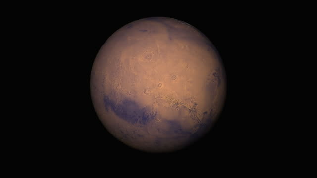 Planet Mars animation
