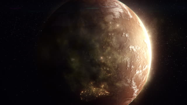 planet seen from space - 4k resolution stock videos & royalty-free footage