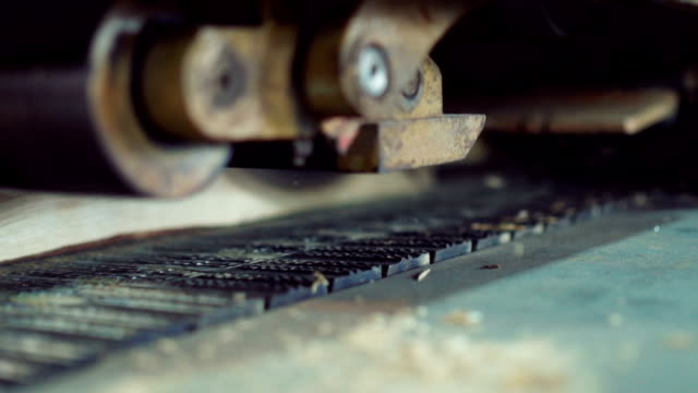 planing machine - wood material stock videos & royalty-free footage