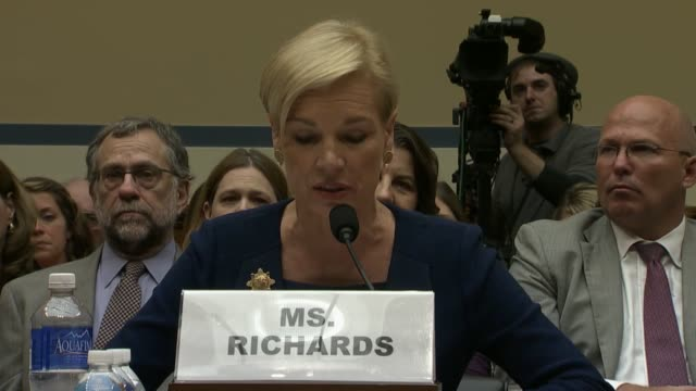planned parenthood ceo cecile richards tells the house oversight committee that patients and health care providers should be able to make their own... - 2015 stock videos & royalty-free footage