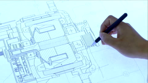 vídeos y material grabado en eventos de stock de planificación de producción y - plano descripción física